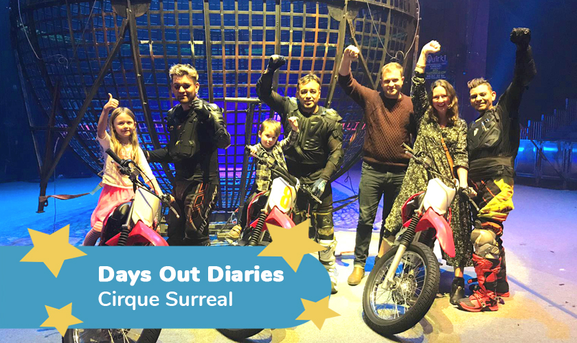 Cirque Surreal Review - Days Out Diaries