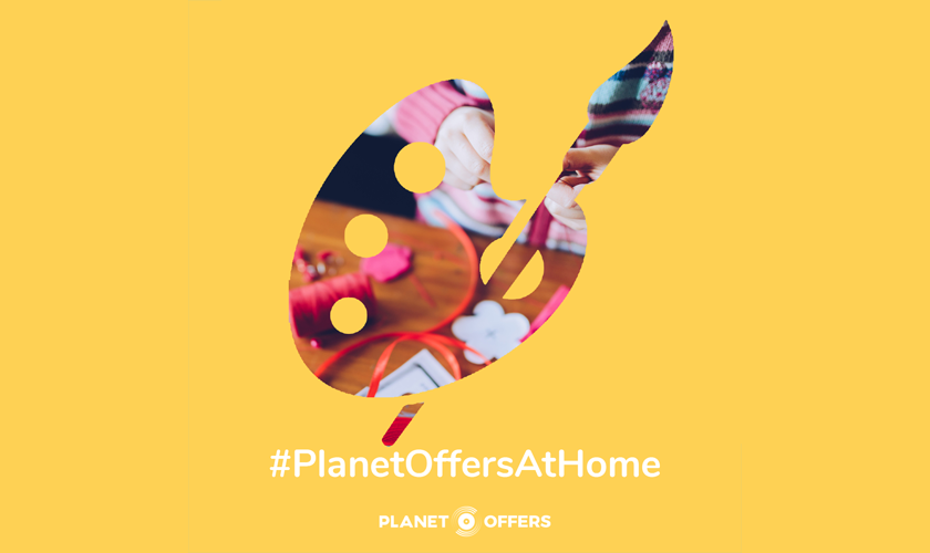 At Home With Planet Offers - Crafting