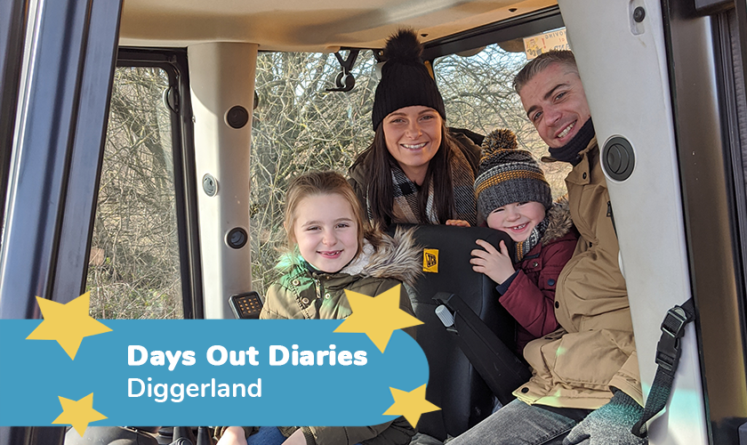 Diggerland Review - Days Out Diaries