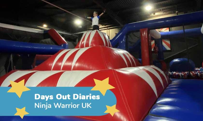 Ninja Warrior UK Review – Days Out Diaries